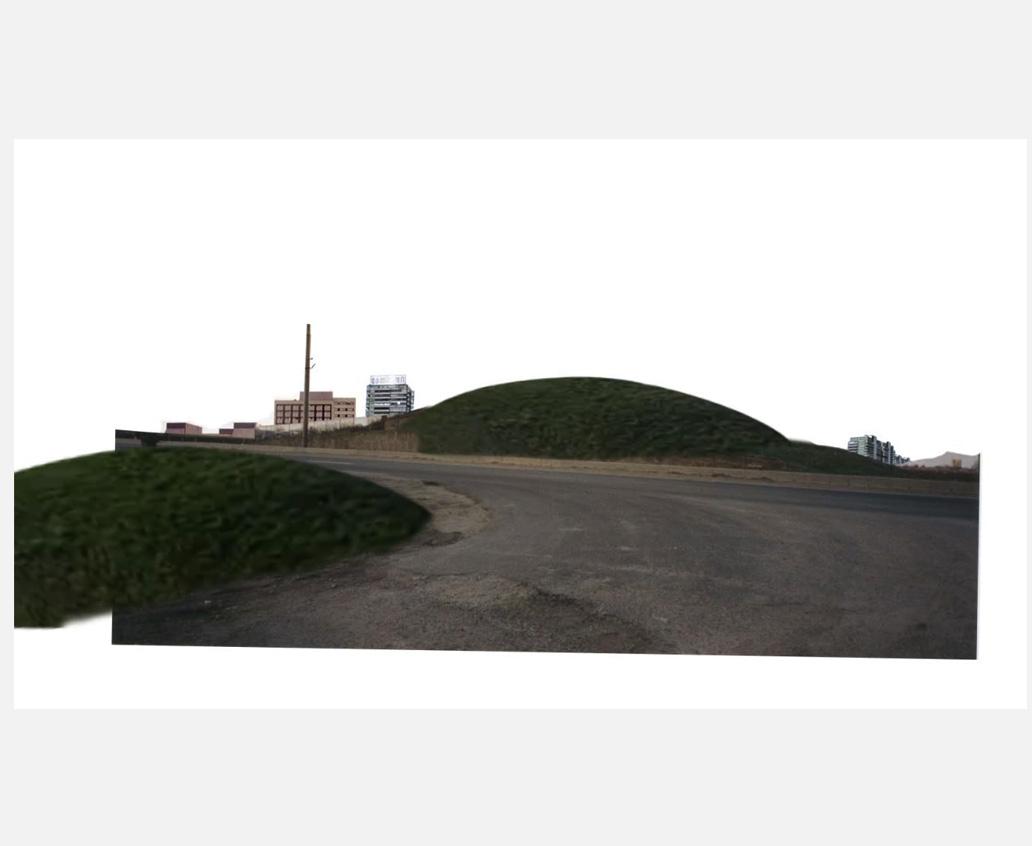 Atmende Hügel